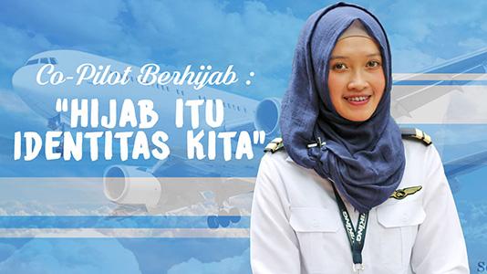 Muslimah Bercerita : Irena Nur Fadhilah Pilot Berhijab