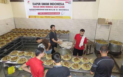 Dapur Umum Indonesia, Hadiah Muslimin Indonesia Untuk Warga Gaza