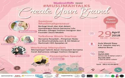 MuslimahTalks : Create Your Brand