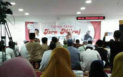 Acara Tabligh Akbar Isra' Mi'raj Indonesia Murojaah