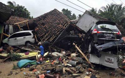 Bencana Tsunami Banten, Indonesia Kembali Berduka