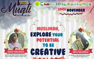 "EVENT : "" Muslimah, Explore Your Potential To Be Creative """