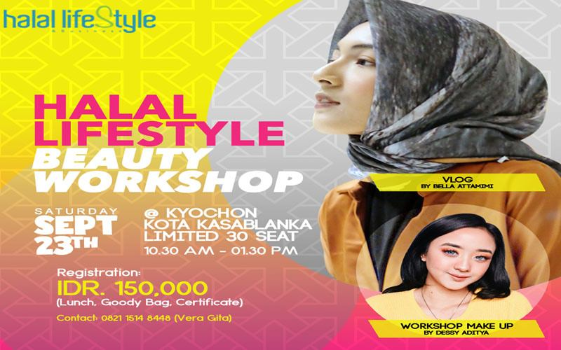 "EVENT : ""Halal Lifestyle Beauty Workshop"""