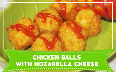 Chiken Ball With Mozarella Cheese