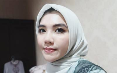 Kenakan Hijab Tiara Pangestika Tuai Pujian Nitizen