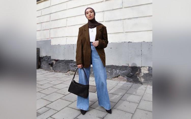 Inspirasi Gaya Busana Muslimah ala Fashion Blogger Imane Asry