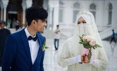 Muzammil Hasballah Menikah Setelah Mengimami Sholat Subuh