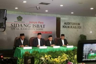 Resmi! Pemerintah Umumkan Puasa Ramadhan 2018 Jatuh Hari Kamis.
