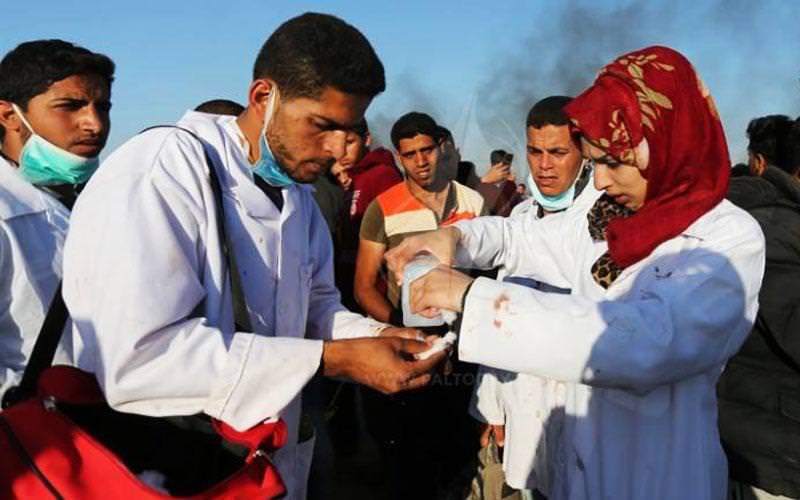Mengharukan Inilah Kisah Sang Malaikat Medis Sebelum Ditembak Pasukan Israel