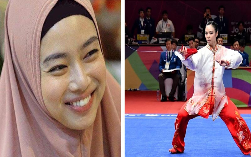 Lindswell Kwok, Jawara Wushu Indonesia Menjadi Mualaf