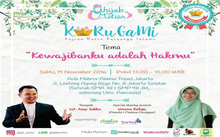 EVENT : Kewajibanku adalah Hakmu by Hijab Motion