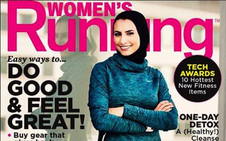 Rahaf Khatib, Atlet Marathon Berhijab yang Muncul di Majalah Kebugaran AS