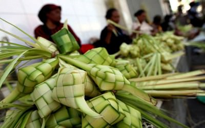 Asal - usul Ketupat Menjadi Makanan Khas Idul Fitri
