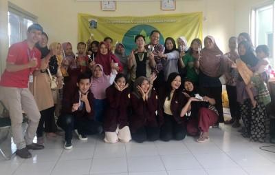 Mahasiswa BINUS University International, Menggerakan Program Pengembangan Masyarakat di Rusunawa Pesakih