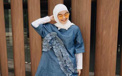 Cantiknya Berhijab, Tantri Namirah Istri Haykal Kamil Tuai Pujian