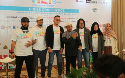 Konferensi Pers Halal Expo Indonesia 2019