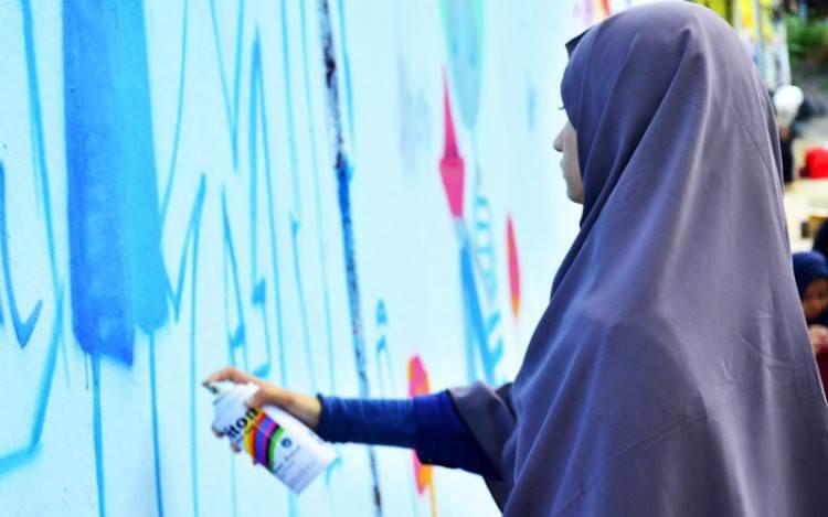 Ladies On Wall, Komunitasnya Bomber Wanita Indonesia