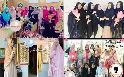 Komunitas Muslimah Syar'i Indonesia, Wadahnya Bunda Untuk Berkarya