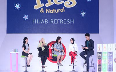 Peluncuran Hijab Refresh, Spray Cologne.