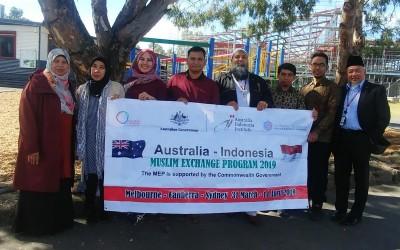 Lima Tokoh Muslim Mewakili Indonesia dalam Program AIMEP 2019 di Australia
