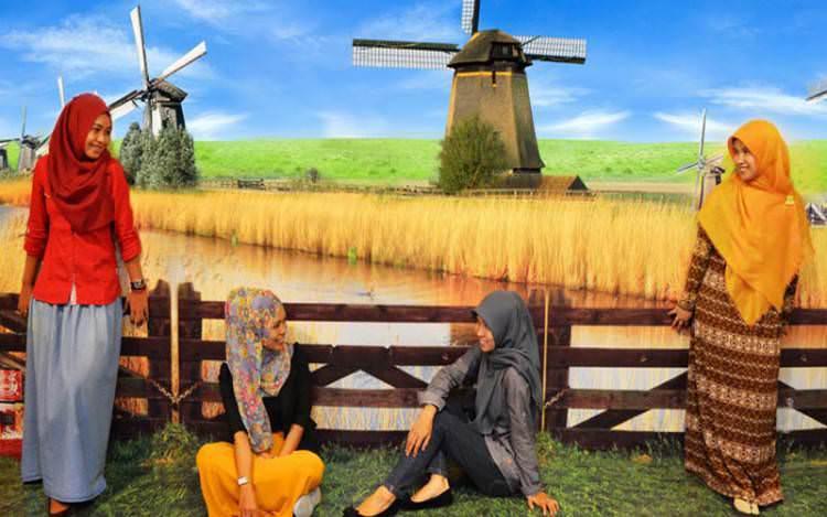 Rasakan Sensasi Petualangan 3D Di Museum De Mata Yogyakarta.