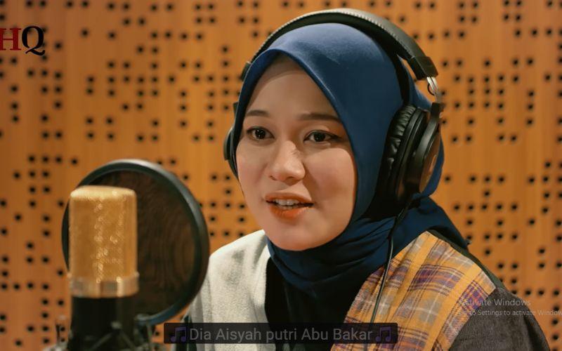 Kisah Cinta Aisyah dan Rasulullah Lewat Cover Lagu Terbaru Anisa Rahman