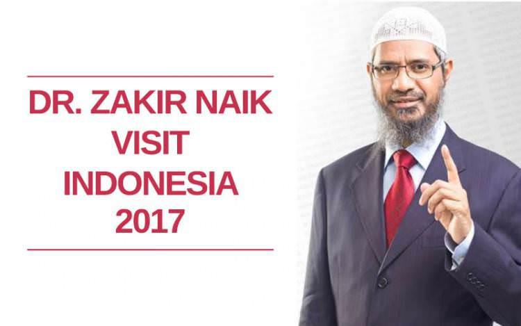 Catat, Ini Jadwal Ceramah Dr. Zakir Naik Selama di Indonesia