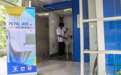 Smart Toilet Sekarang ada di Halte TransJakarta