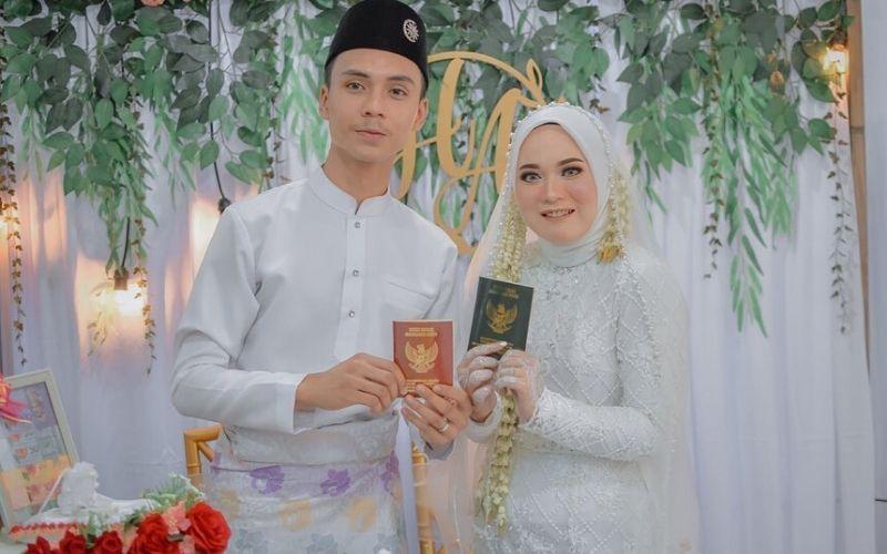 5 Momen Pernikahan Anisa Rahman Eks Sabyan Gambus