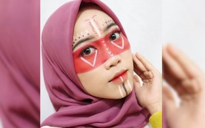 7 Inspirasi Make up Karakter ala Selebgram Tanah Air