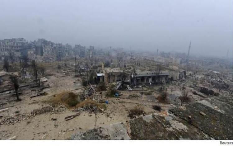 Serangan Udara AS Hancurkan Masjid di Aleppo, 42 Orang Tewas