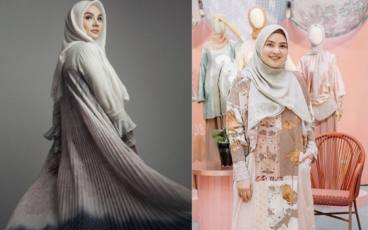 11 Inspirasi Fashion Gamis ala Desainer Ria Miranda