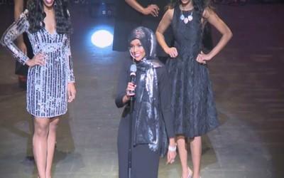Halima Aden, Ikut Kompetisi Kecantikan dengan Mengenakan Burkini