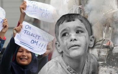 Dunia Bertelolet dan Tangisan Para Putra Aleppo