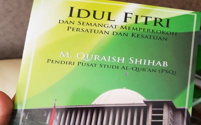 Teks Khutbah Idul Fitri Prof.Quraish Shihab di Masjid Istiqlal