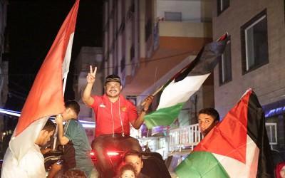 Takbiran Keliling ala Indonesia dan Pasar Gratis di Gaza