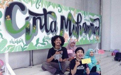 Tak Harus Bersuara Lantang, 3.54 Project Bersyiar Melalui Seni Mural Islami