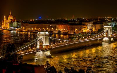 Tren Tur Jalan Kaki ke Area Muslim di Budapest