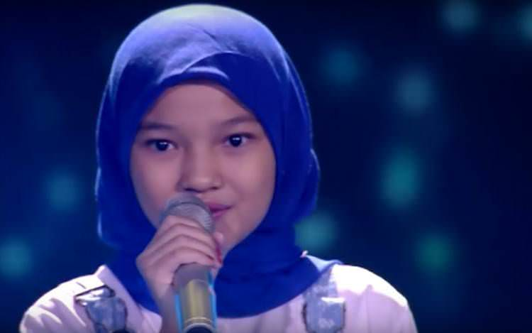 Rachel, The Voice Kids Indonesia babak blind auditions